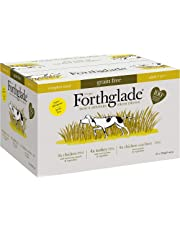 Forthglade 100% Natural Grain Free Complete Wet Dog Food Poultry Variety Pack 395g (12 Pack)