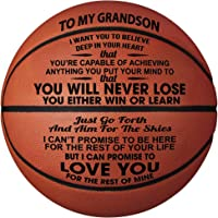 GadgetsTalk Engraved Basketball Gift - You Will Never Lose