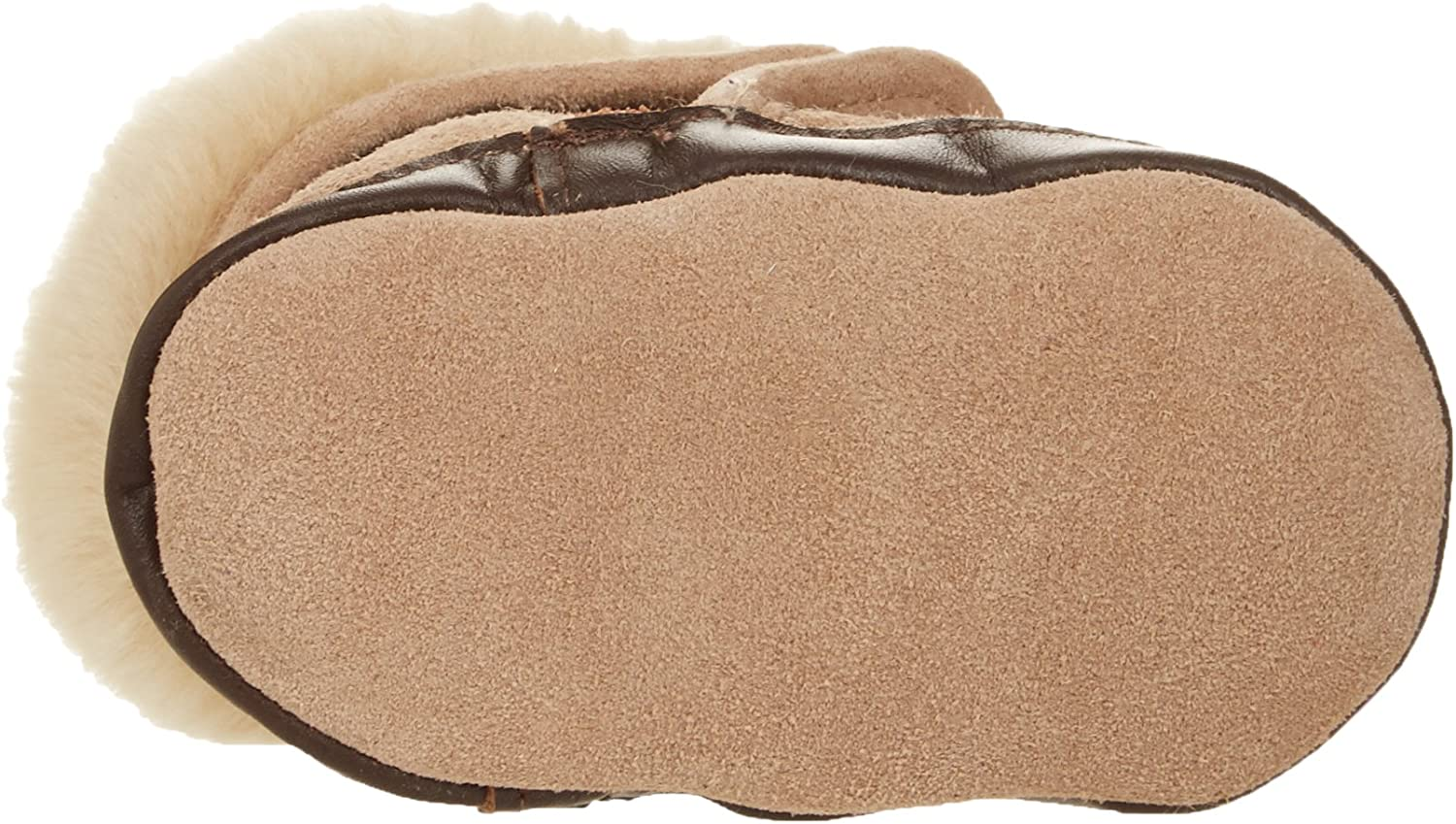 Brown Robeez Cozy Ankle Baby Boots Soft Soles 12-18 Months