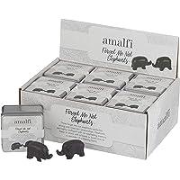 Amalfi EMDE 07 S/2 Forget Me Not Elephants, Black