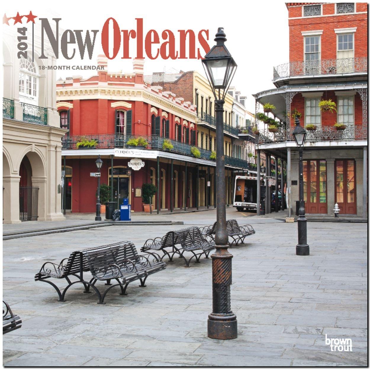 New Orleans 2014: Original BrownTrout-Kalender [Mehrsprachig] [Kalender] Kalender – Wandkalender, 30. September 2013 Inc Browntrout Publishers Brown Trout 1465011757 Calendar