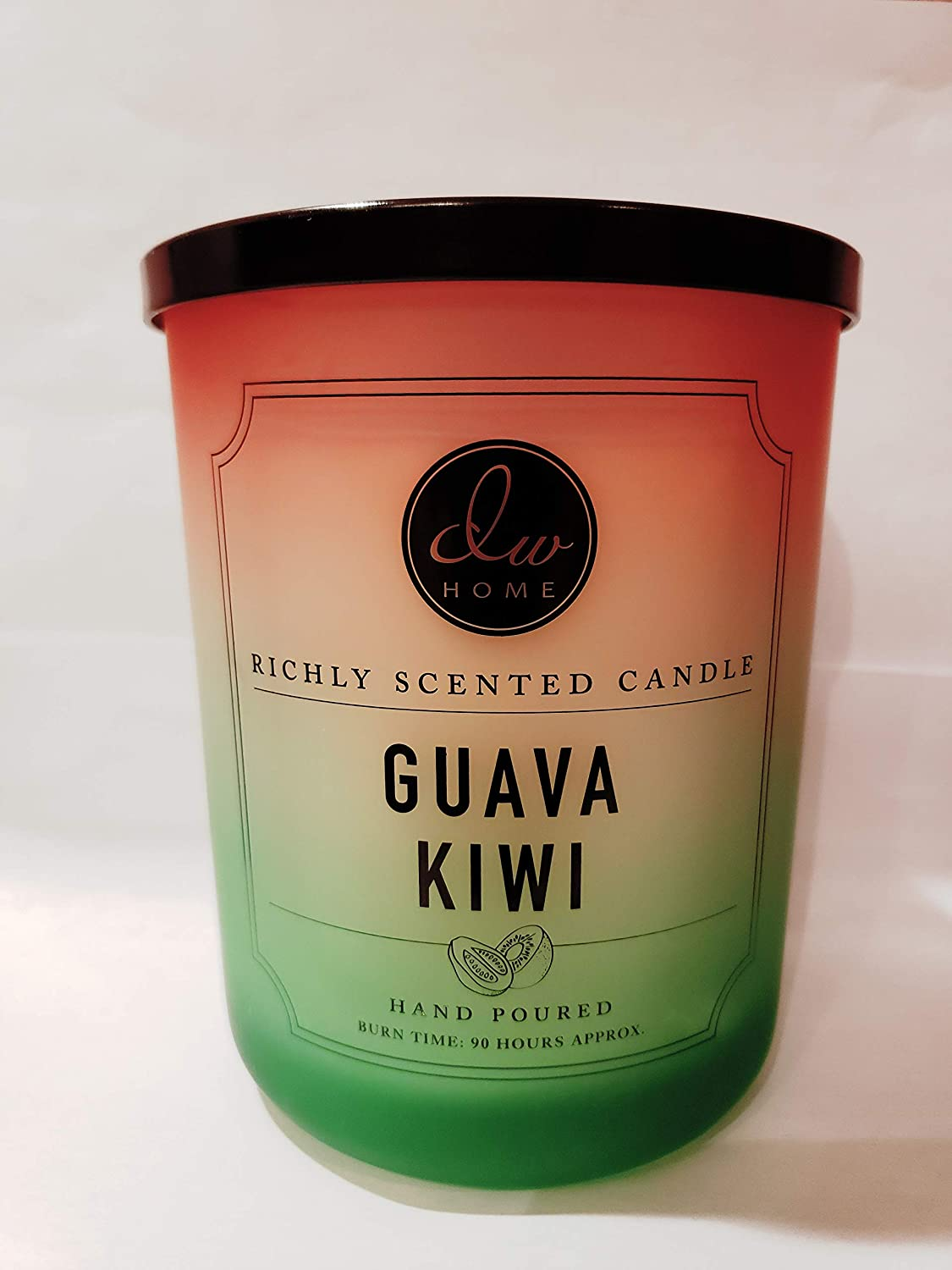 DW Home Guava Kiwi Extra Large Double Wick 25.4 oz. Candle (90 Hour Burn)