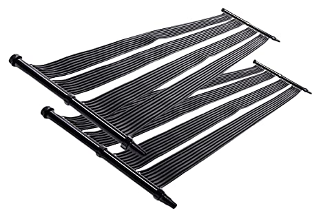 Nemaxx 2X Calentador Solar SH6000 6 m - Calefacción Solar para Piscina, Calefacción Solar,