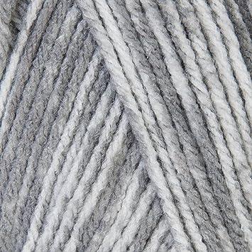 Amazon com: Mary Maxim Starlette Yarn - Grey Heather - 100% Ultra