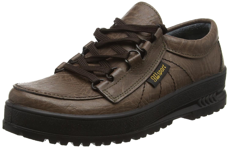 Grisport - Zapatillas de senderismo de cuero unisex 48 EU|Marrón