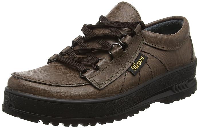 CMG036 - Zapatillas de senderismo de cuero unisex, color marrón, talla 35.5 Grisport