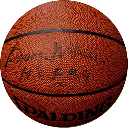 87f191d8c2b George Mikan Hand Signed Autograph Full Size Spalding Basketball MPLS Lakers