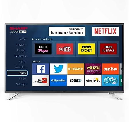 Sharp LC-32CFG6022K 1080p 32-Inch Smart Full HD TV with Freeview   Amazon.co.uk  TV 57ec6b0e2