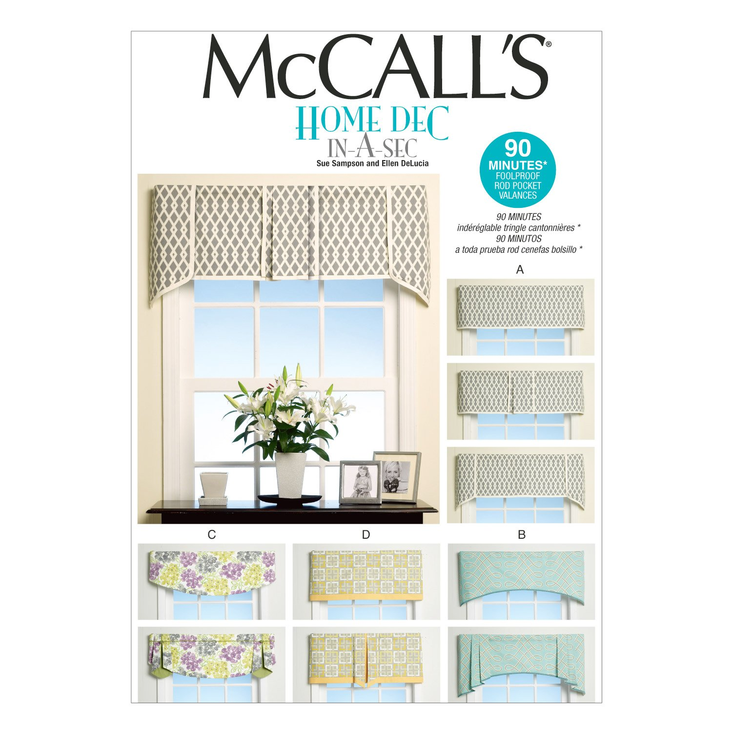 McCall's Patterns M7033 Window Treatments, in One Envelope McCall Pattern Company M7033OSZ