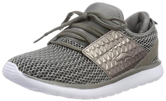 Kangaroos Bumpy Future, Zapatillas para Mujer, Grey (Steel Grey), 36 EU