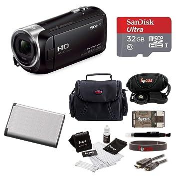 Sony HD Video Recording HDRCX405 Handycam Camcorder Bundle Video Cameras