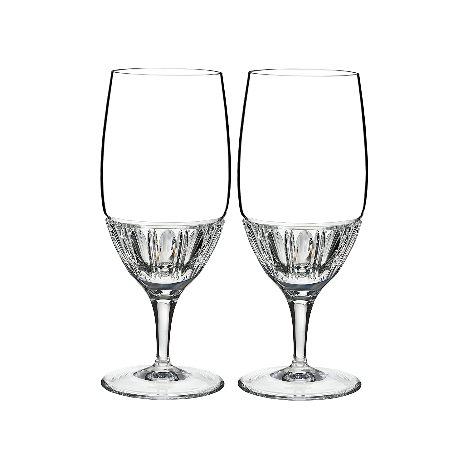 Marquis by Waterford 40019224 Addison Flute Glasses 7 oz Clear WWRD