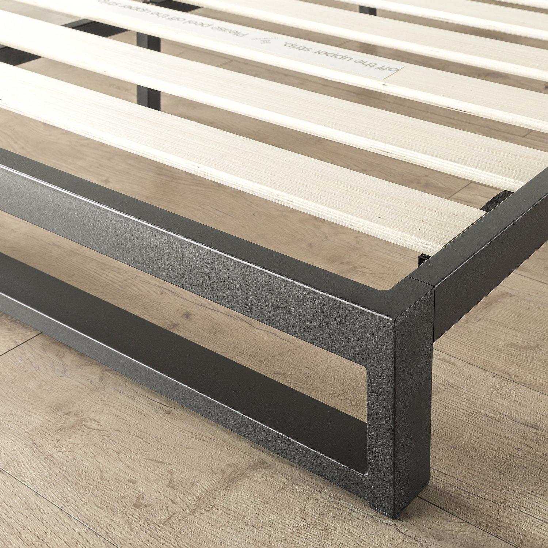 21038461b253 ... Boxspring Optional Zinus 7 Inch Heavy Duty Low Profile Platforma Bed  Frame