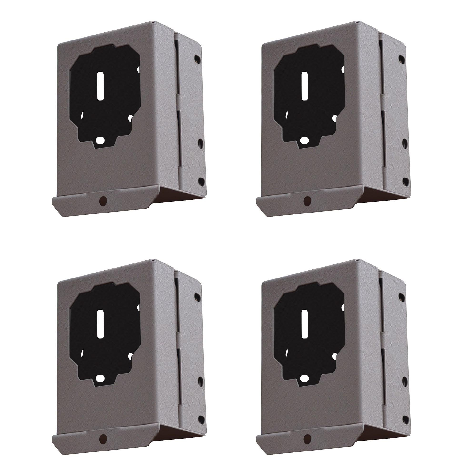 Stealth Cam Steel Lockable Security Bear Box for DS4K Game Trail Camera (4 Pack)