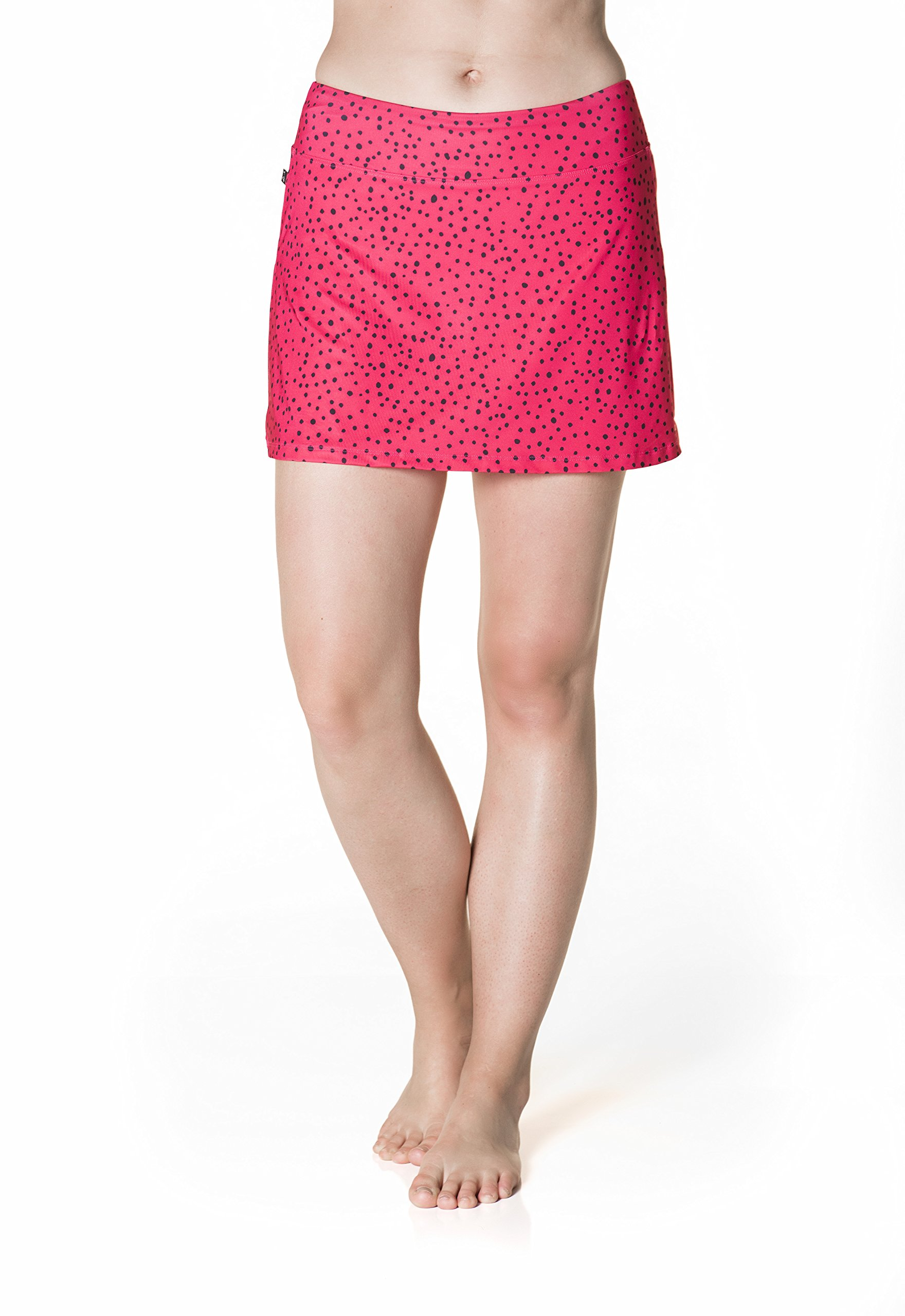 Skirt Sports Women's Happy Girl Skirt, Bubbly Print by Skirt Sports