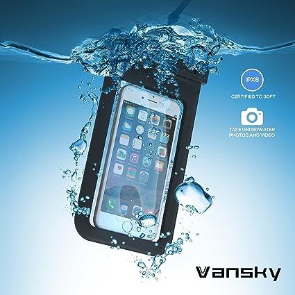 Wasserdichte Handyhülle, Vansky®: Amazon.De: Elektronik