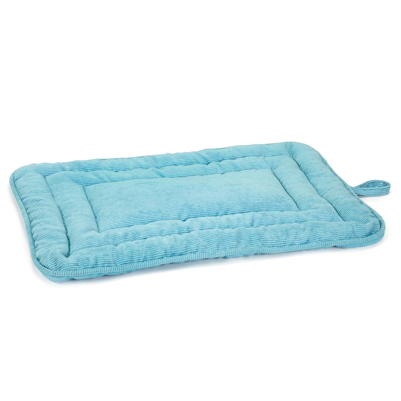 Slumber Pet Reversible Pet Dog Bed, French bluee, Medium