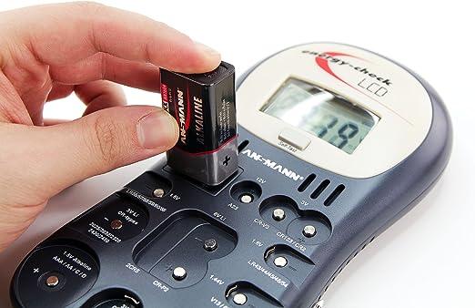 Ansmann Knopfzellentester Zuverlässiges Testgerät Zum Anzeigen Der Kapazit