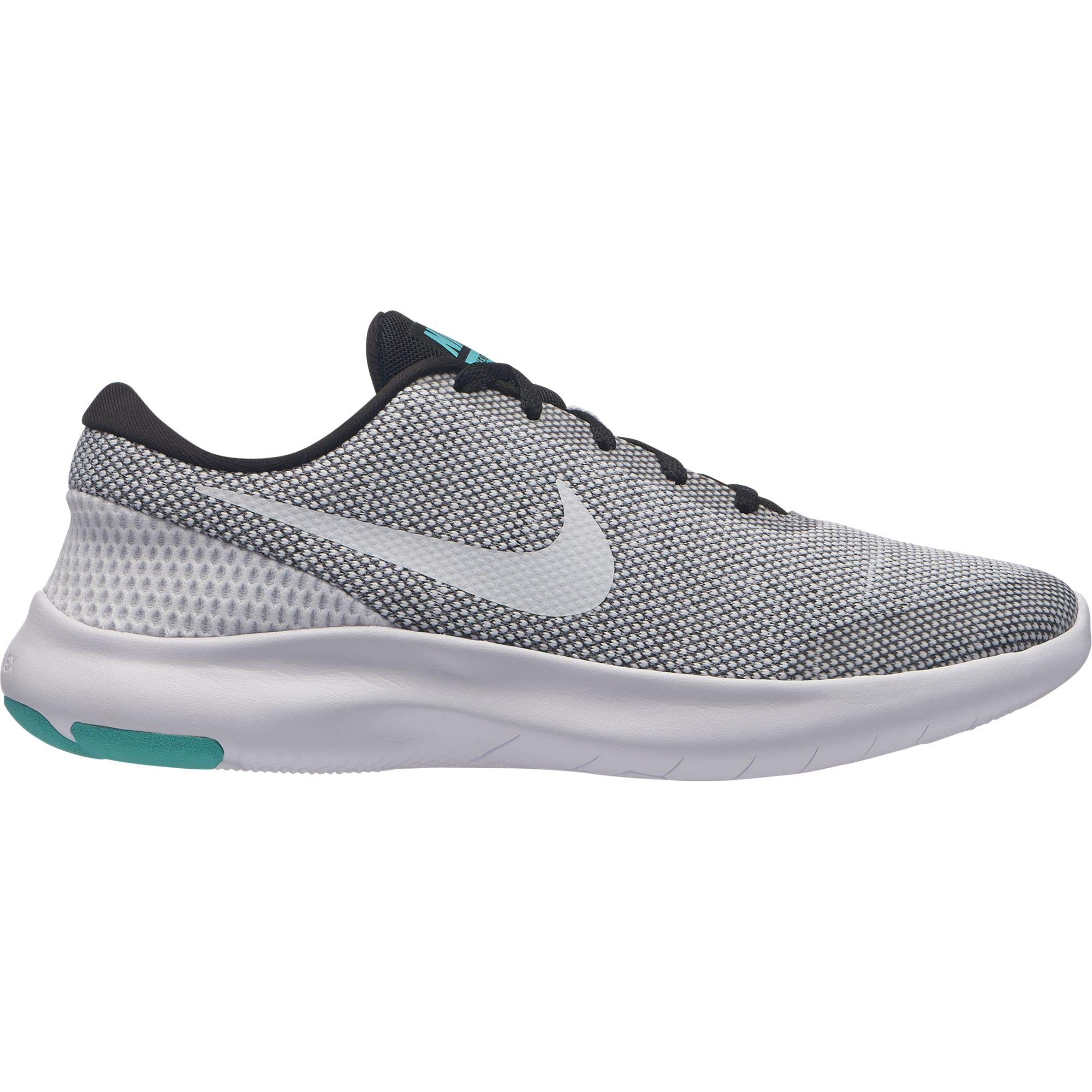 huge selection of f27d2 228f6 Galleon - Nike Women s Flex Experience RN 7 Running Shoes, Black White-Hyper  Jade, 7.5