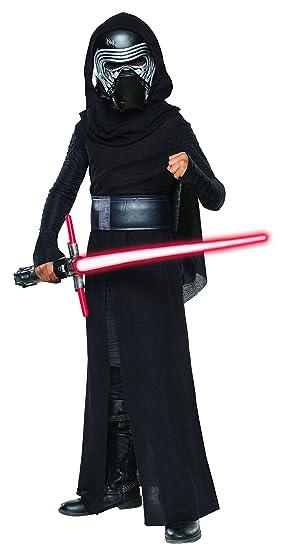 733e0a75449 Star Wars - Disfraz de Kylo Ren Premium para niños, infantil talla 7 ...