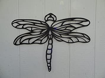 Dragonfly 2ft Metal Wall Art Home/garden Decor