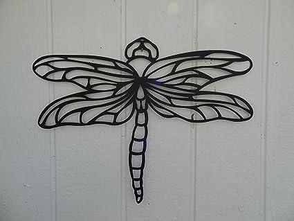 Dragonfly 2ft Metal Wall Art Home/garden Decor & Dragonfly 2ft Metal Wall Art Home/garden Decor - Wall Sculptures ...
