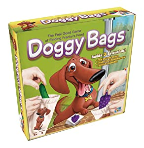 Getta1Games Doggy Bags - Be The First to Find Franky's Food - for Ages 3+ - A Fun Grab Game for Toddlers and Families (GT-4229)