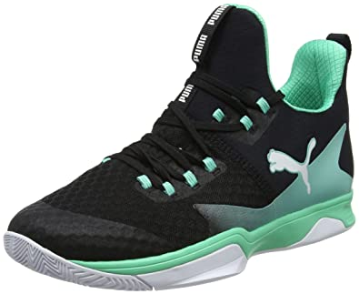 purchase cheap 3623b 3a7a5 Puma Rise XT 3, Chaussures Multisport Indoor Mixte Adulte, Noir  Black-Biscay Green