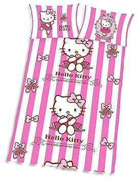 Hello Kitty Parure De Lit Bebe 40 X 60 100 X 135 Cm 100 Coton
