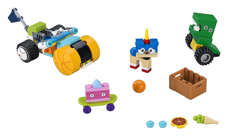 LEGO Unikitty - Triciclo del Príncipe Perricornio, Juguete Divertido y Creativo de Construcción con Diferentes Figuras de la Serie de Televisión para ...