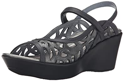 7021e1142a10 Naot Women s Deluxe Wedge Sandal