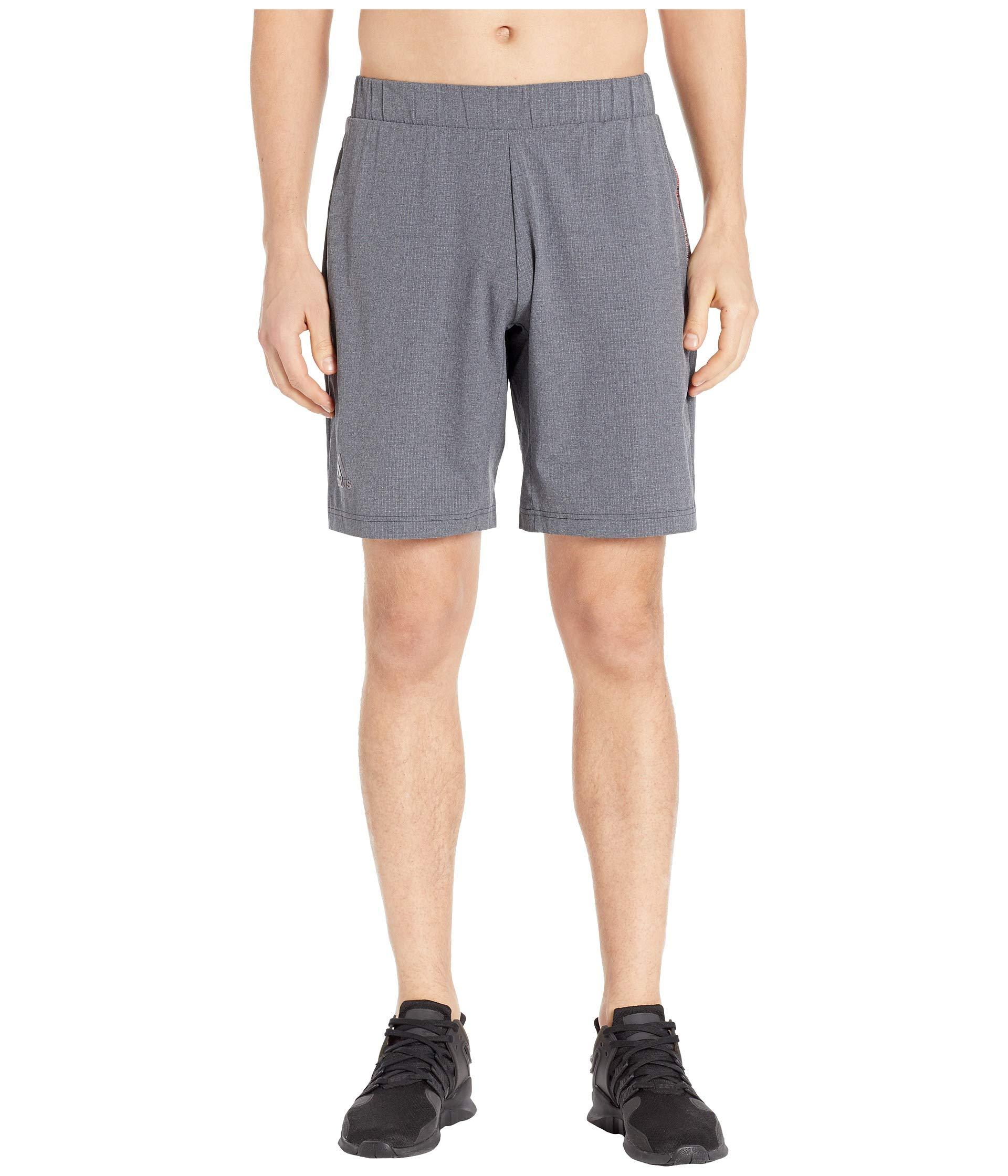 """adidas MatchCode Shorts 9"""" Dark Grey Heather MD"""