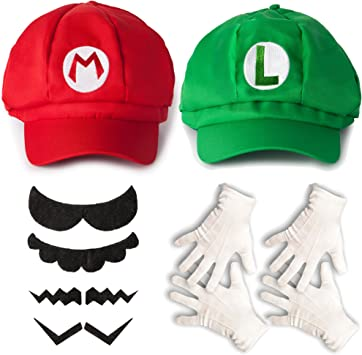 Katara Juego de Disfraces Super Mario Bros Niños/Adultos Roja ...