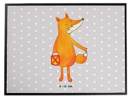 Variations Desk Mat Fox Lantern OT Grau Pastell