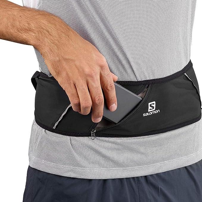 Salomon Pulse Belt Cinturón de Corriendo y Senderismo, Unisex Adulto, Negro, XS: Amazon.es: Deportes y aire libre