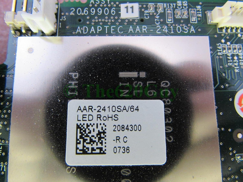 Adaptec AAR-2410SA//64 Serial ATA Workstations//Servers RAID Card SATA Cables