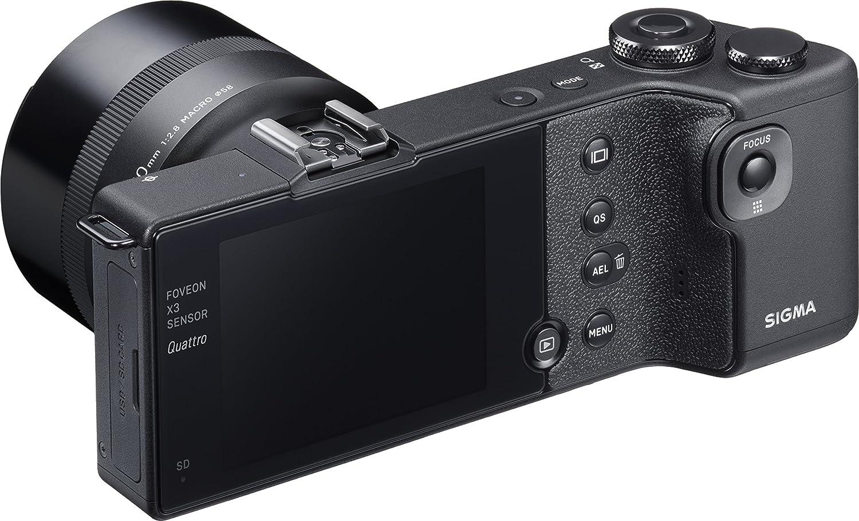 Sigma Dp3 Quattro Digitalkamera 3 Zoll Schwarz Kamera
