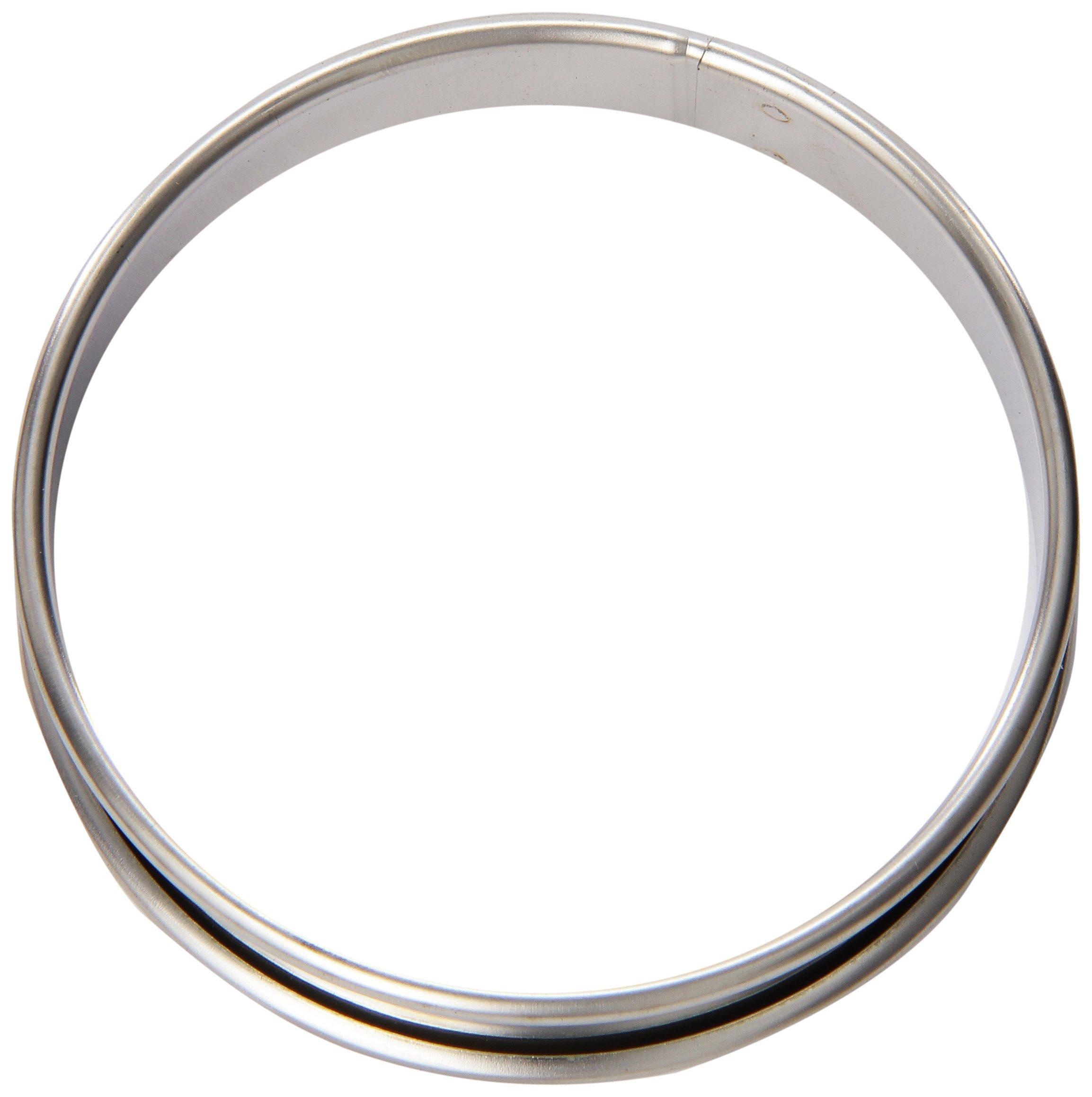 Matfer Bourgeat 371705 Small Flan Ring, Silver