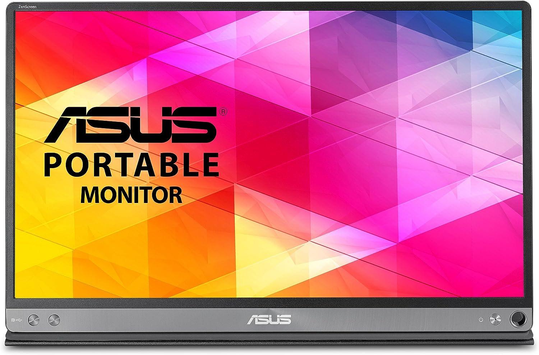 ASUS MB168B HD Monitor portátil Alimentado por USB con USB 3.0 (reacondicionado Certificado): Amazon.es: Electrónica