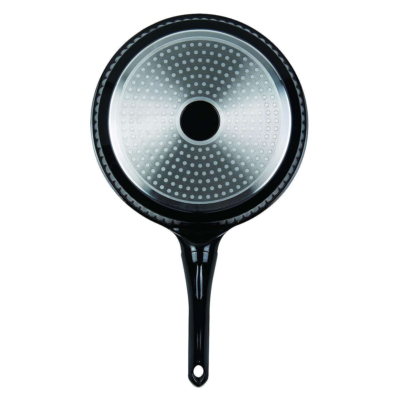 color negro Master Pan MP-145 Sart/én antiadherente de aluminio fundido