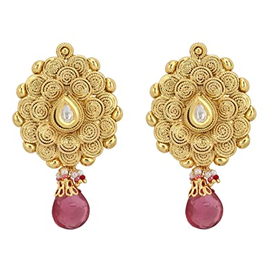 Buy Stylepotion Temple Jewellery South Indian 22K Gold Plated with
