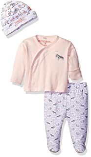 Magnificent Baby Magnetic Darjeeling Damask 3 Piece Kimono Set, Magnificent Baby Baby