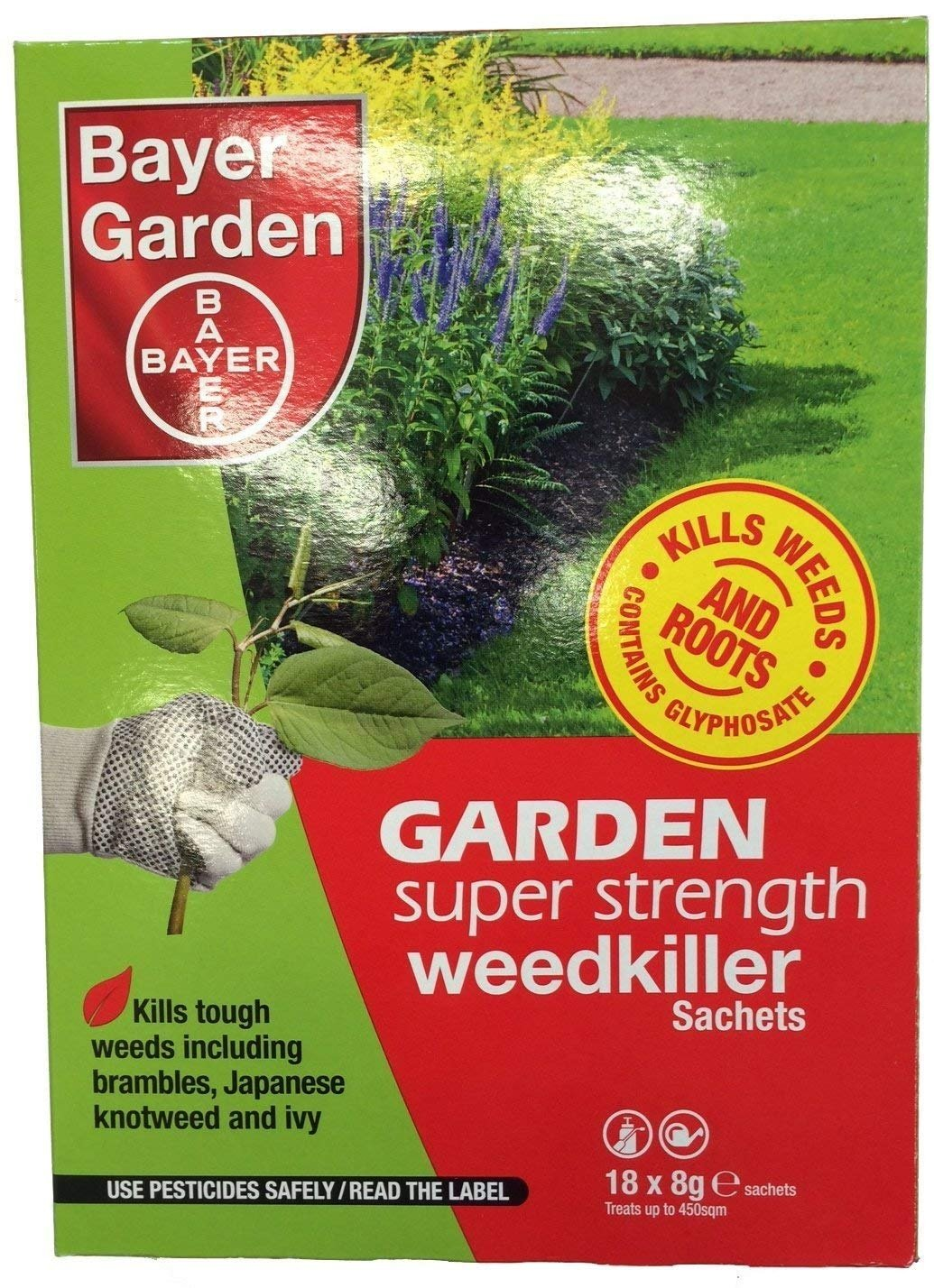 Bayer Super Strength Weedkiller Concentrate 18 Sachets