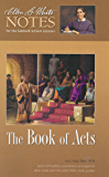 The Book of Acts:  Ellen G. White Notes 3Q 2018