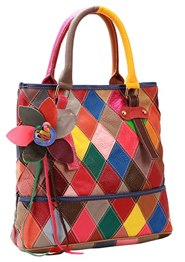 On Clearance Heshe Womens Multi-color Shoulder Bag Hobo Tote Handbag Cross  Body Purse ( be6324c071