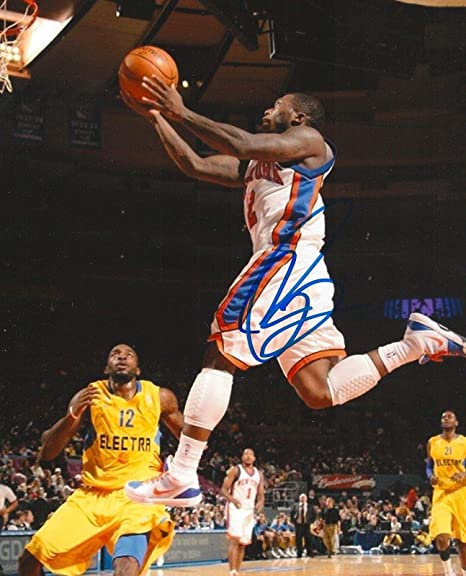 e90429536af Image Unavailable. Image not available for. Color: Nate Robinson  Autographed Picture - KNICKS ...