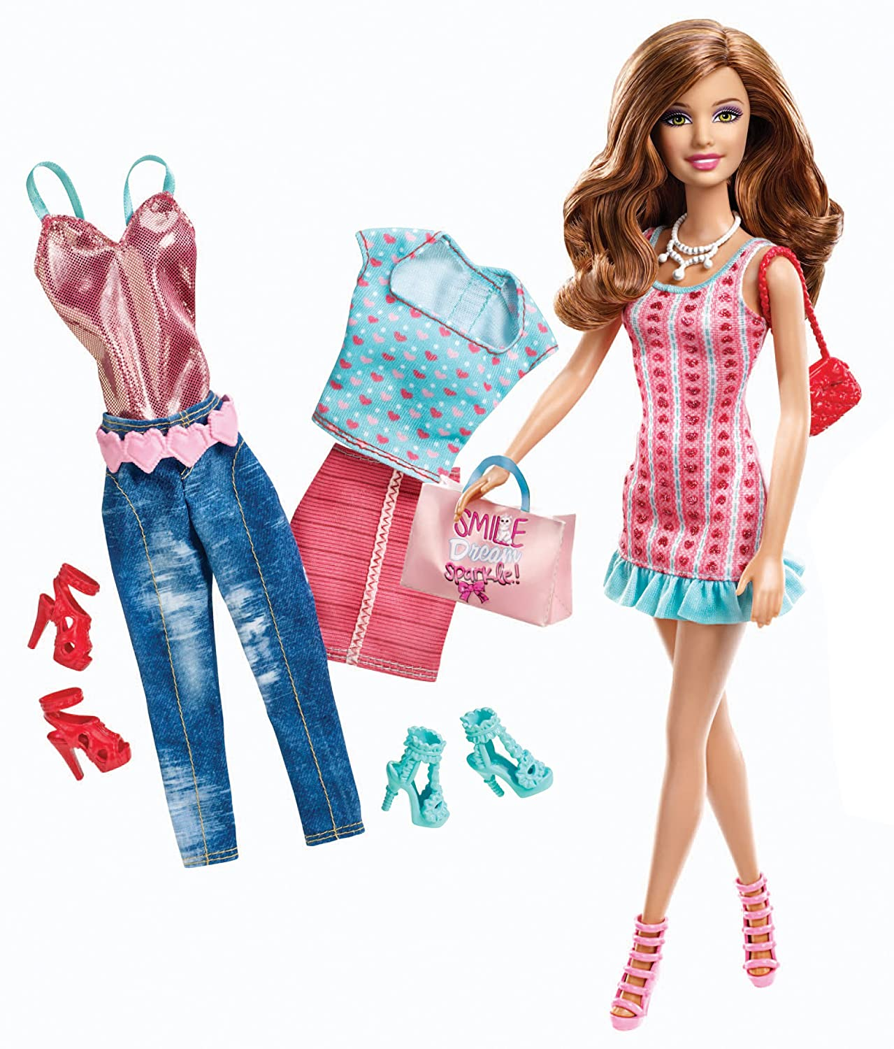 . Amazon com  Barbie Doll and Fashions Teresa Gift Set  Toys   Games