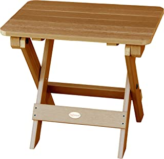 product image for Highwood Folding Adirondack Side Table, Toffee