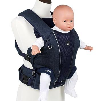 24045379279 Porte-bébé ventral PREMIUM - transporteur sac pour enfant - sac enfant à  porter votre