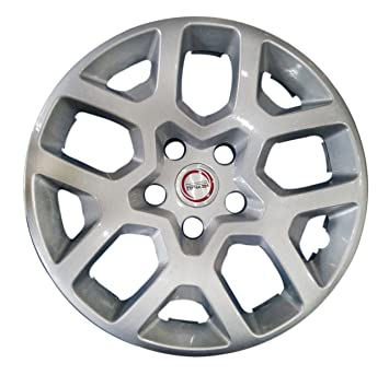 Hotwheelz Wheel Cover for Renault Duster (Set of 4, Silver): Amazon.in: Car & Motorbike